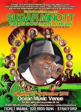 Sugar Minott Tribute Show
