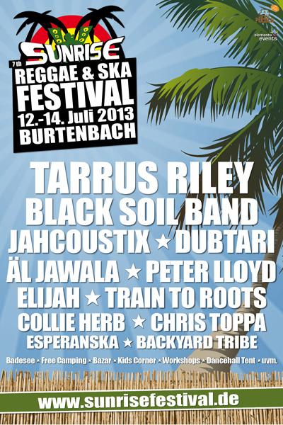 Sunrise Reggae & Ska Festival 2013