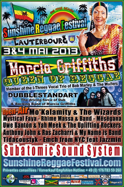 Sunshine Reggae Festival 2013