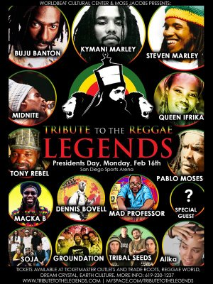 Tribute To The Legends 2009