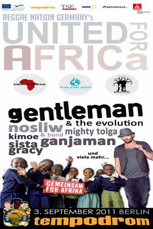 Reggae Nation Germany's United For Africa