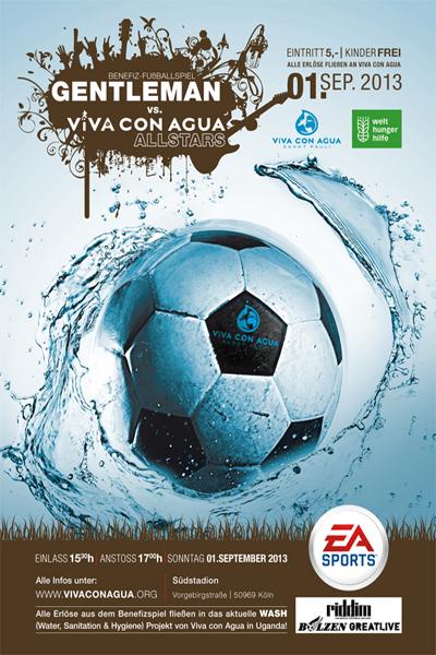 Gentleman Allstars vs. Viva Con Agua Allstars 2013