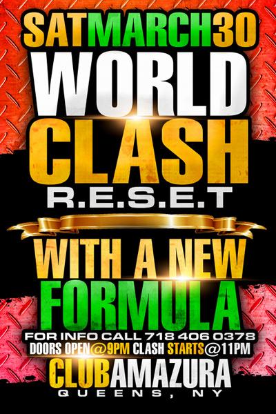 World Clash RESET 2013