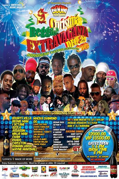 Christmas Reggae Extravaganza 2013