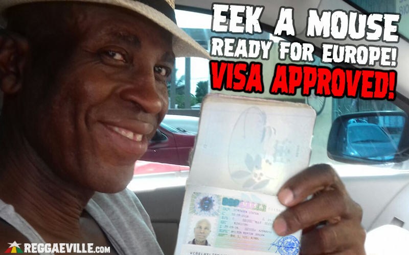 Visa Approved - Eek A Mouse Ready for Europe!