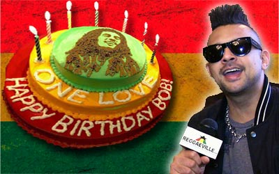 Admirable Video Interview Sean Paul Happy Birthday Bob Marley Personalised Birthday Cards Veneteletsinfo