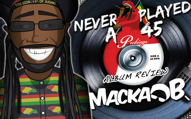 Album Review: Macka B – Never Played a 45
