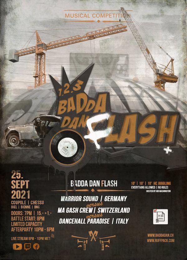 1-2-3 Badda Dan Flash 2021