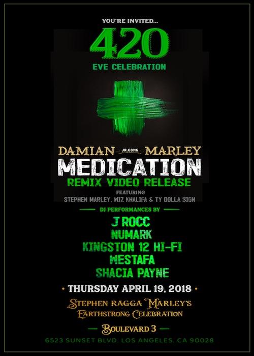 Stephen Marley's Earthstrong Celebration 2018