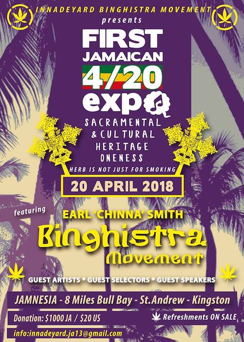 Jamaican 4/20 Expo 2018