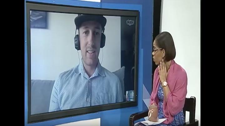 A Germans Love for Reggae Music - Drummer Alex Domhöver@ TVJ Smile Jamaica [7/2/2018]