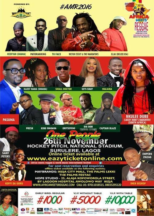 Africa Meets Reggae 2016
