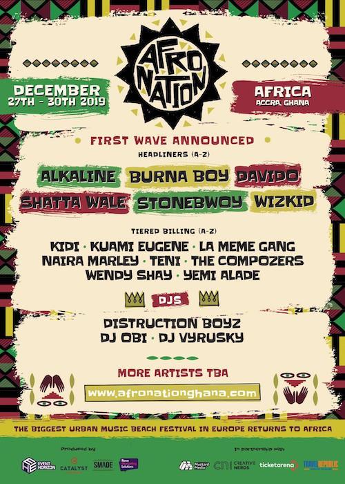 Afro Nation - Ghana 2019