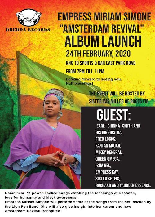 Miriam Simone - Amsterdam Revival Album Launch 2020