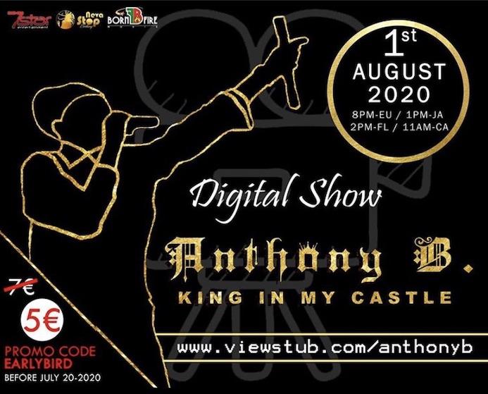 Anthony B & House Of Riddim - Digital Live Show 2020