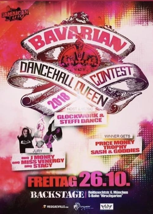 Bavarian Dancehall Queen Contest 2018