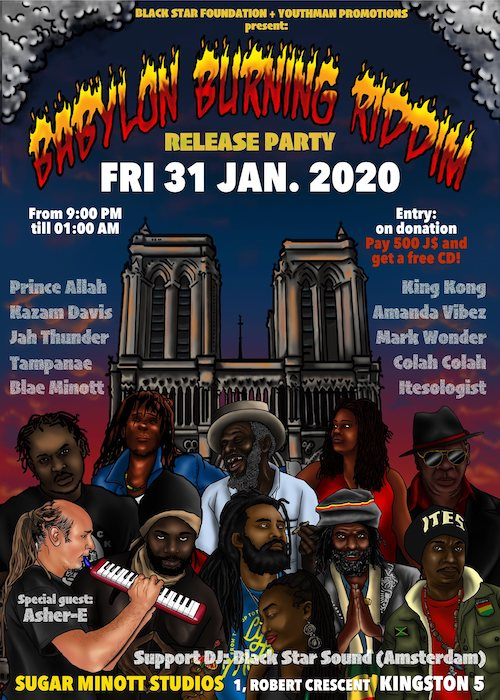 Babylon Burning Riddim Release Party