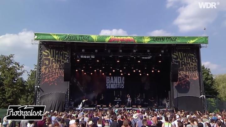 Banda Senderos @ SummerJam 2019 (Rockpalast Stream) [7/5/2019]