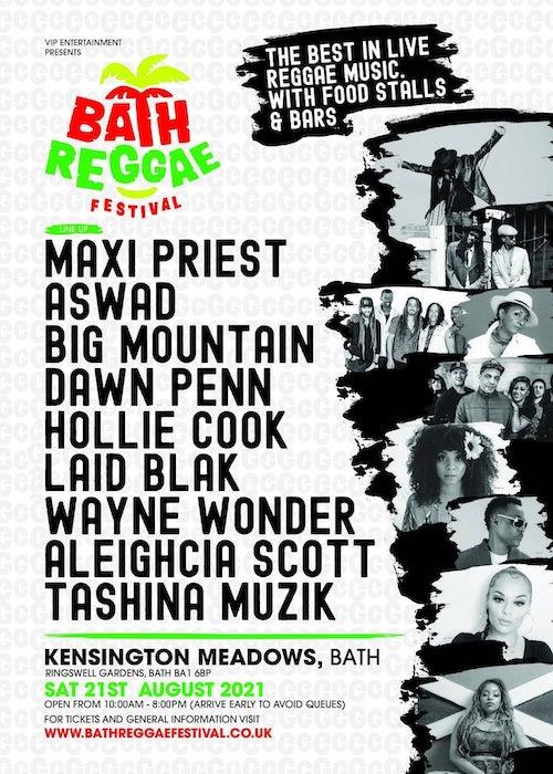 Cancelled: Bath Reggae Festival 2021