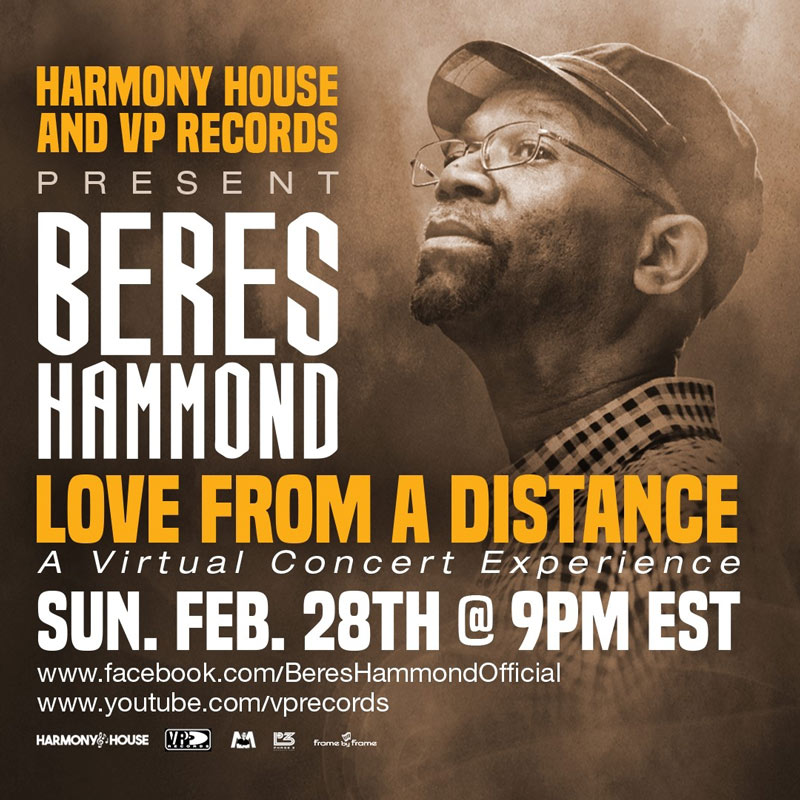 Beres Hammond - Love From A Distance 2021