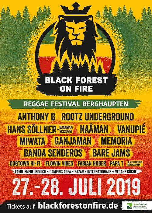 Black Forest On Fire 2019