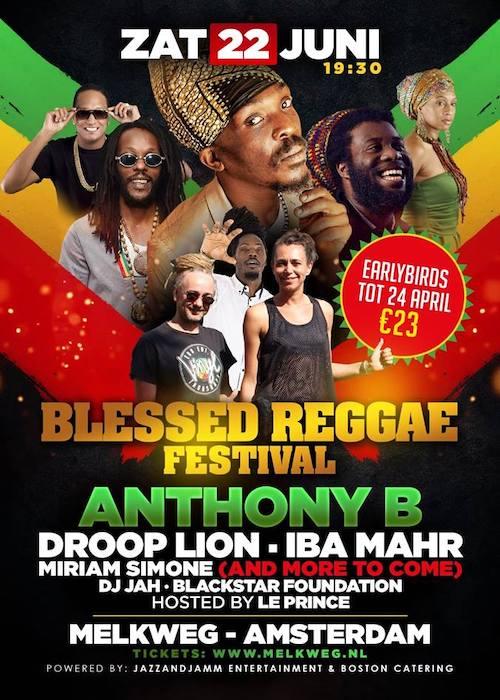 CANCELLED: Blessed Reggae Festival 2019