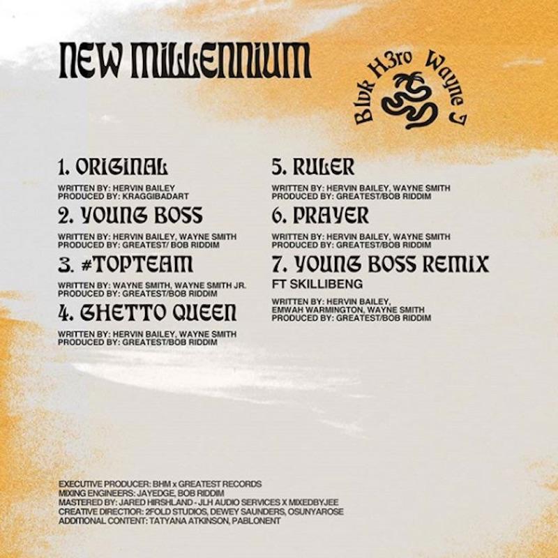 Blvk H3ro & Wayne J - New Millennium