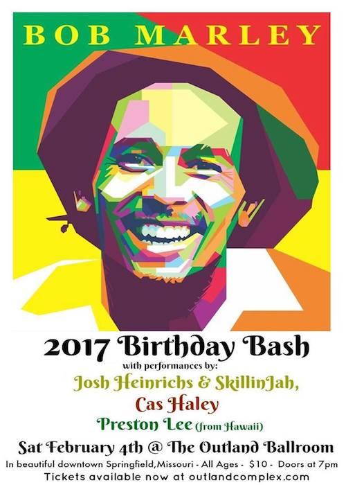 Bob Marley Birthday Bash 2017 - Springfield