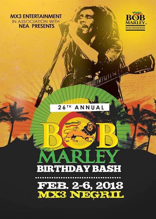 bob marley födelsedag Bob Marley Birthday Bash 2018   Negril   reggaeville.com bob marley födelsedag