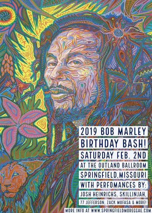 Bob Marley Birthday Bash - Springfield 2019