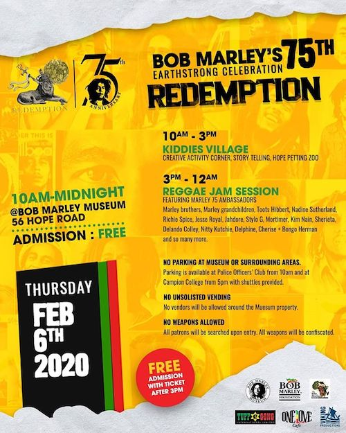 Bob Marley's 75th Earthstrong Celebration