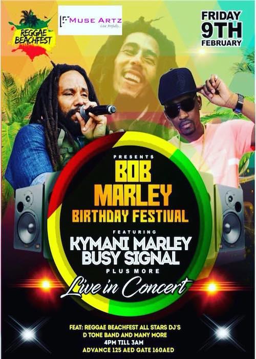 Bob Marley Birthday Festival - Abu Dhabi 2018