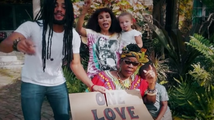 Bob Marley - One Love feat. Skip, Cedella & Stephen Marley (The Amplified Project) [7/17/2020]