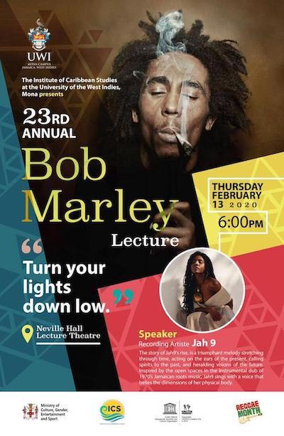 Bob Marley Lecture 2020