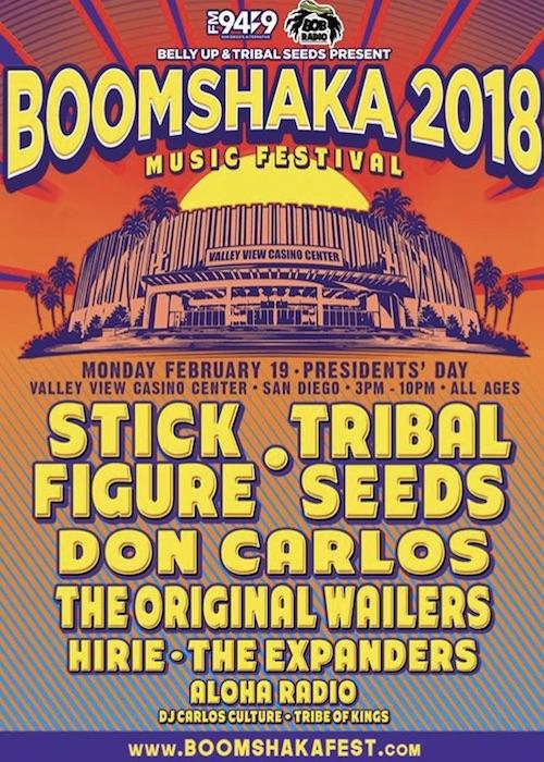 Boomshaka Music Festival 2018