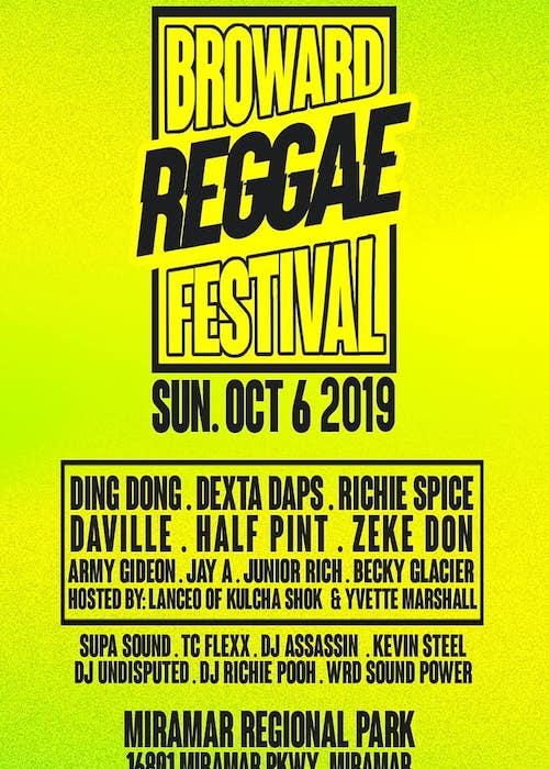 Broward Reggae Fest 2019