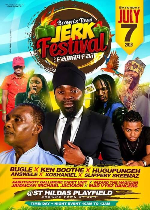 Brown's Town Jerk Festival 2018