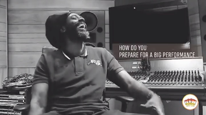 Buju Banton - How Do You Prepare For A Big Performance [2/18/2019]