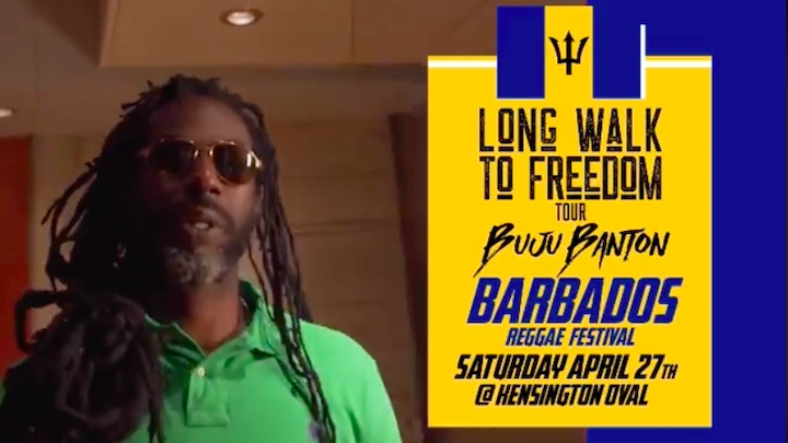 Buju Banton @ Barbados Reggae Festival 2019 (Drop) [1/25/2019]