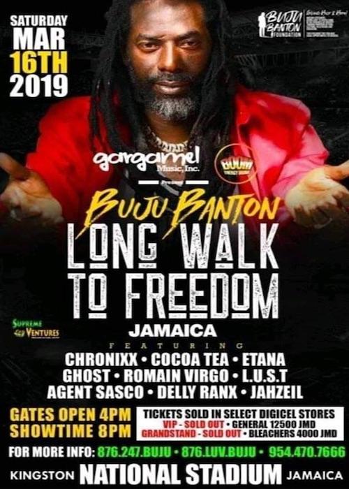 Buju Banton - Long Walk To Freedom 2019