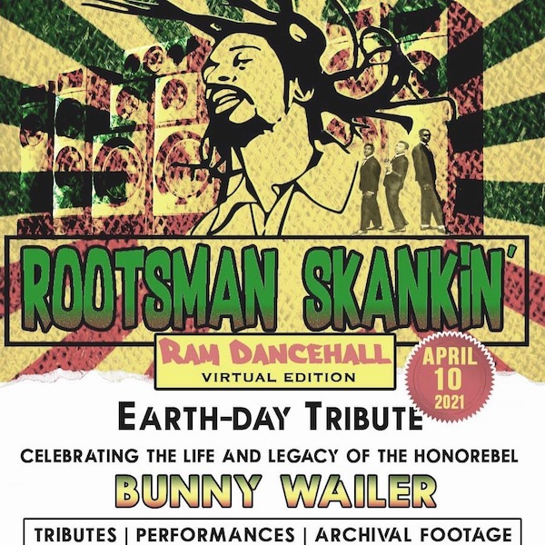 Bunny Wailer Virtual Earth-Day Tribute 2021 - reggaeville.com