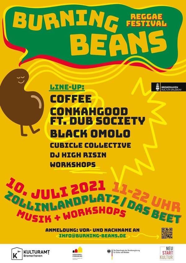 Burning Beans Reggae Festival 2021
