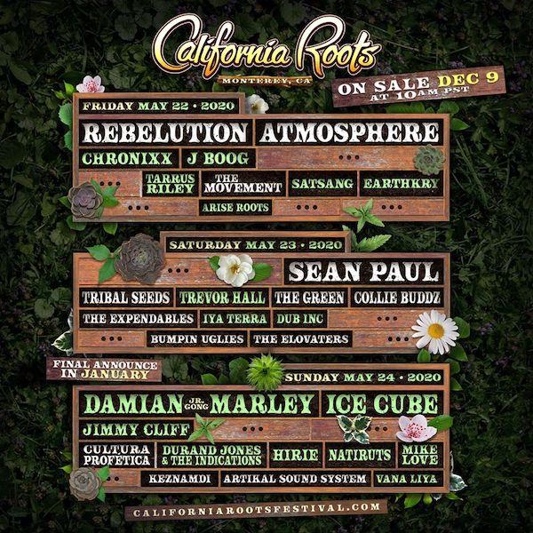 POSTPONED: California Roots Festival 2020