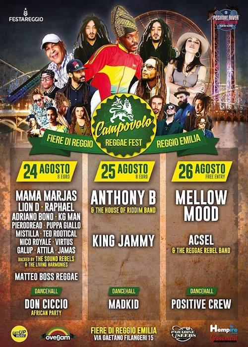Campovolo Reggae Fest 2018