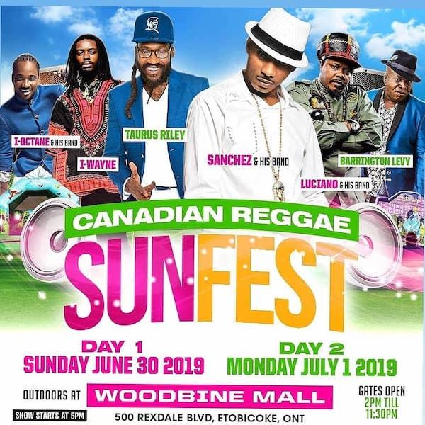 Canadian Reggae Sunfest 2019
