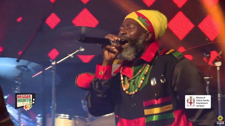 Capleton @ Global Reggae Night 2021 [2/26/2021]