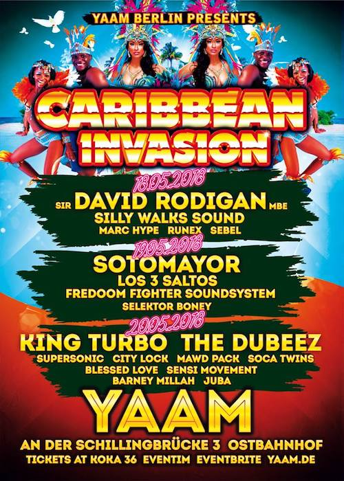Caribbean Invasion 2018