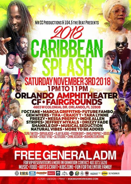 CANCELLED: Caribbean Splash 2018