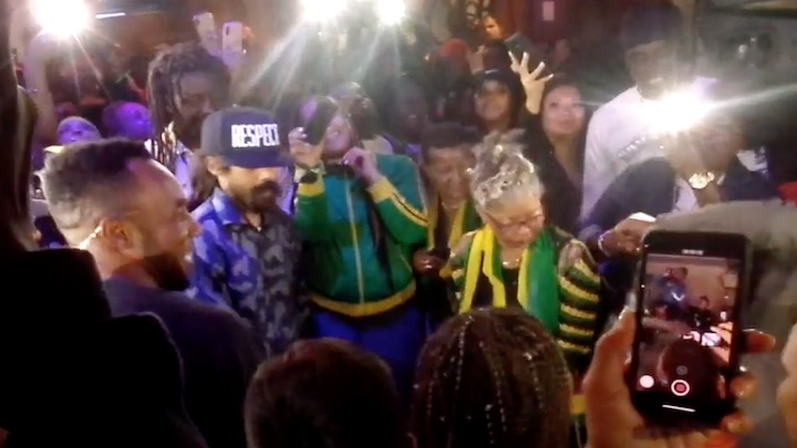 Cham, Kabaka Pyramid & Damian Marley deejay in the crowd @ Welcome To Jamrock Cruise 2018 [12/5/2018]