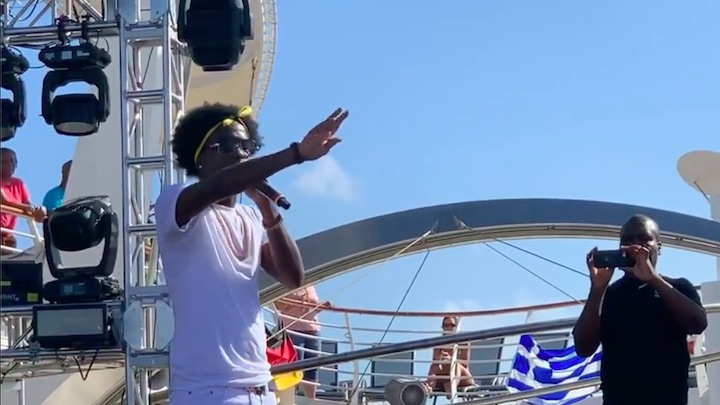 Charly Black @ Welcome To Jamrock Reggae Cruise 2019 [12/13/2019]